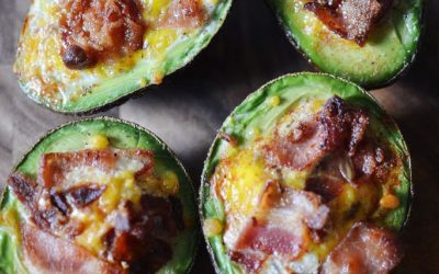 Stuffed Breakfast Avocados