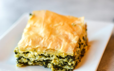 My First Attempt at Homemade Spanakopita