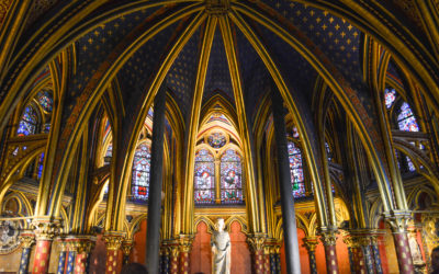 The Beautiful Stained Glass of Sainte Chapelle