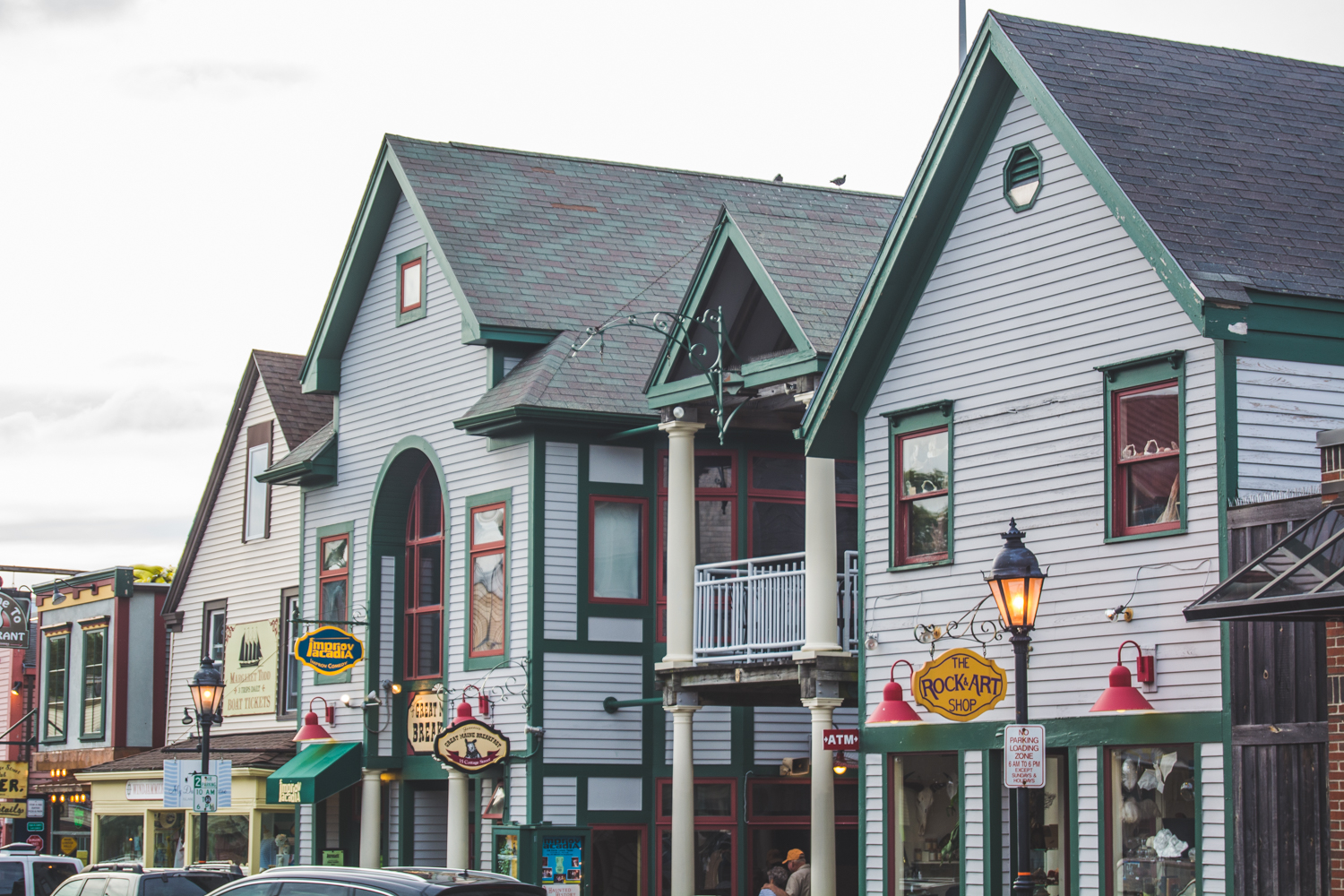 Shopping in Bar Harbor Maine - Travel - Lace and Grace Blog
